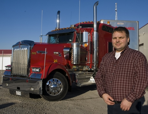 Sylvain Oligny has been impressed so far with the new Kenworth W900 Limited Edition.
