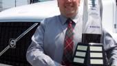 Richard Sharpe, winner of the 2007 Volvo Canadian Fleet Maintenance Manager of the Year Award,