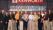 Edmonton Kenworth was named Kenworth Customer Support Dealer of the Year for 2006 for US and Canada at the recent Kenworth Customer Support Meeting.