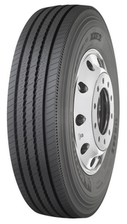 The XZE2 regional tire promises to improve tread life and fuel efficiency over its predecessor, the XZE.