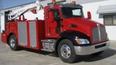 The hybrid T270 is ideal as a field service truck on job sites, Kenworth announced.
