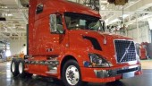 This Volvo VN is the first production intent truck Volvo has produced to EPA2010 emissions standards.