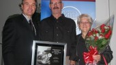 Long-haul trucker Dennis Barkman of Penner International was named Driver of the Year at the Manitoba Trucking Association's recent award ceremony.