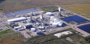COMPLETE CONTROL: DEF produced at Terra's plant near Sarnia leaves aboard the company's own tankers and rail cars to ensure it remains on spec'.