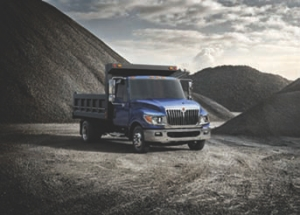 NEW PLAYER: Navistar rounded out its commercial truck line with the Class 4/5 International TerraStar.
