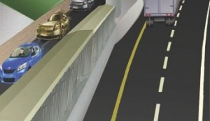 MODIFIED JERSEY BARRIER