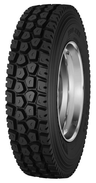 The Michelin XDY-EX2 is designed for oil field, logging and mining applications.