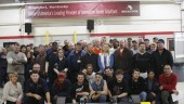 Employees at Meritor's Frankfort trailer products plant are pictured with the 10 millionth trailer axle produced by the company. The axle was shipped to Wabash for installation in a trailer that will be put into service by Werner Enterprises.