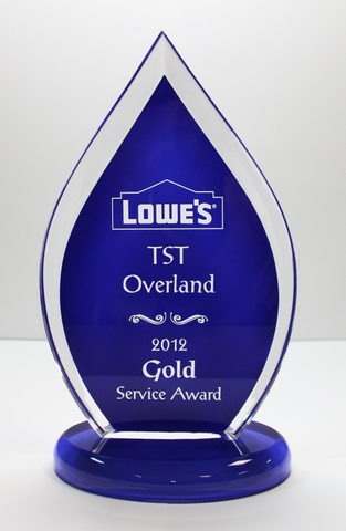 TST's win marks the fourth straight year of recognition for superior service from Lowe's.