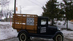 An early Canada Cartage truck