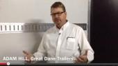 Great Dane's Adam Hill explains the trailer's features.