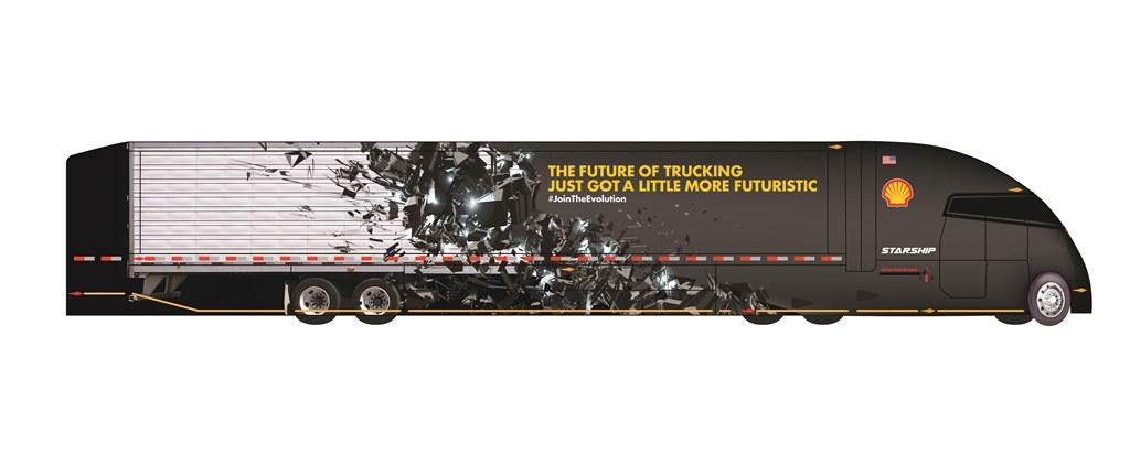 Shell backing visionary truck designer's plans to shatter