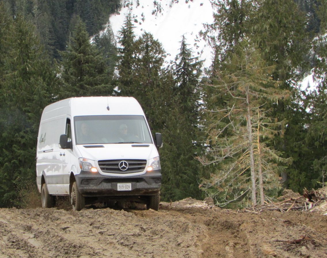 Putting the 4x4 Sprinter to the test - Truck News