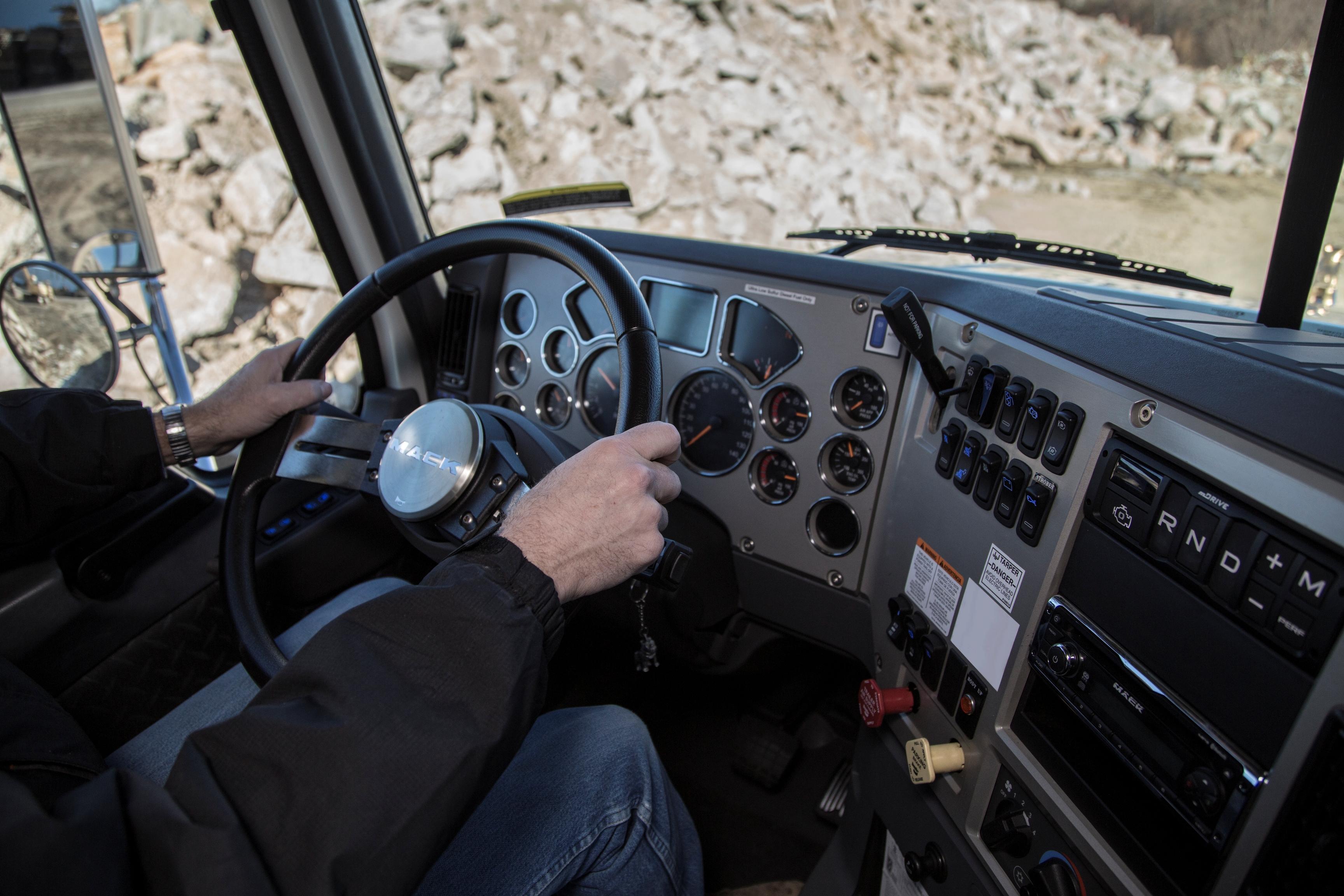Mack Granite mDrive HD Cab Interior - Truck News