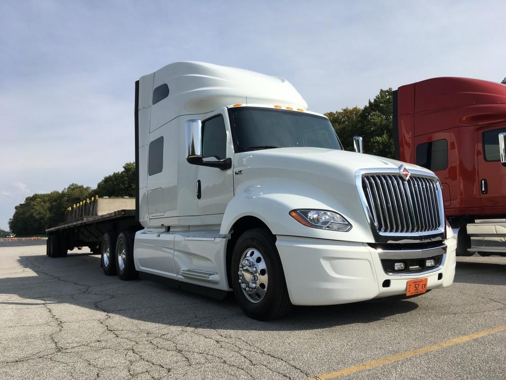 Driving the International LT - Truck News