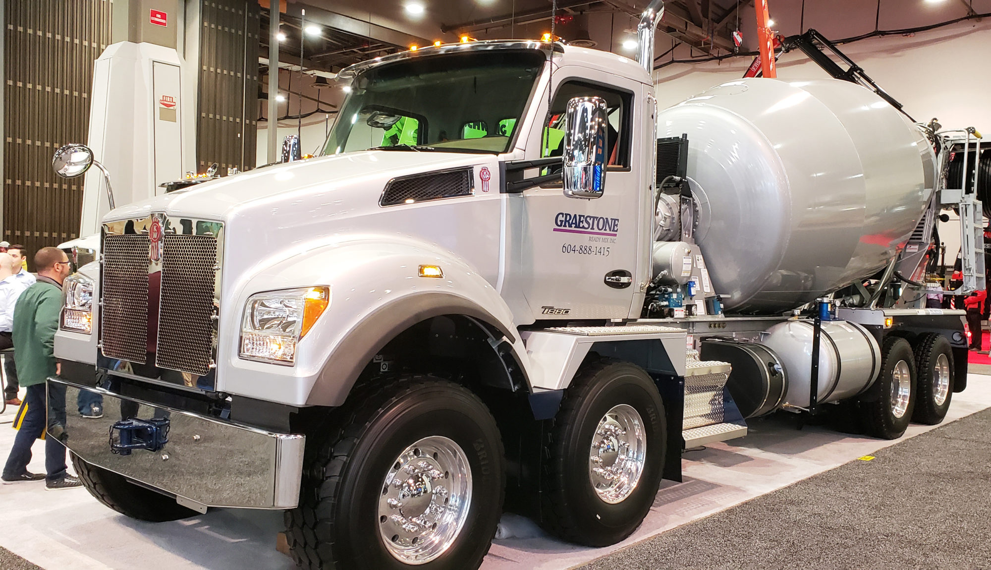 Kenworth, Peterbilt, Mack showcase offerings during World of