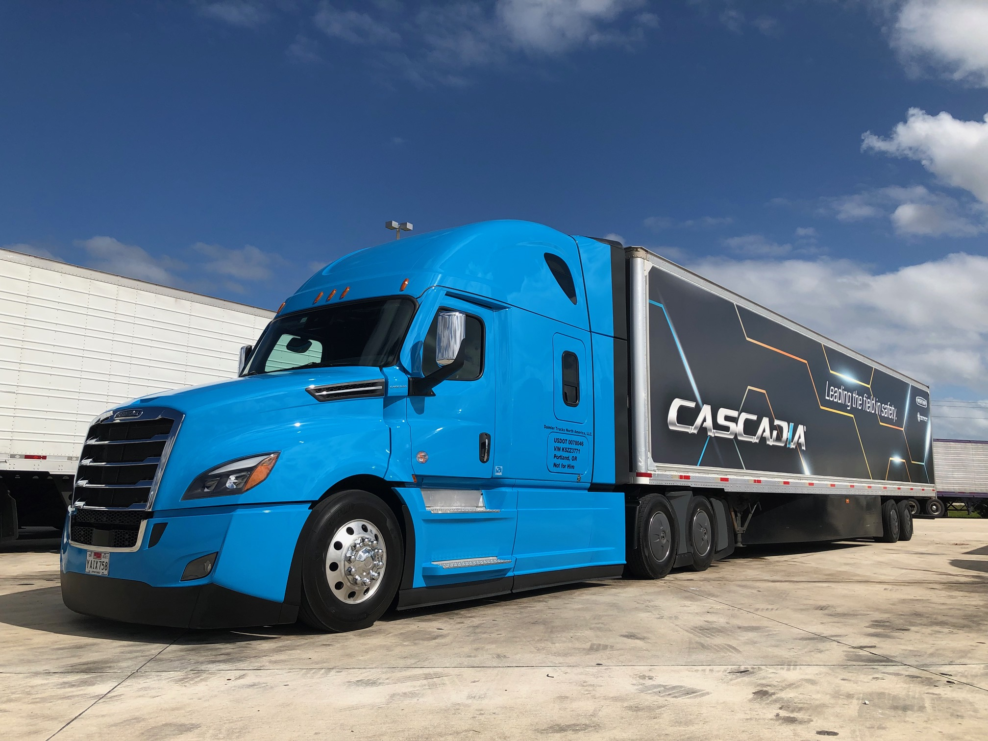 Driving the first Level 2 autonomous new Cascadia - Truck News