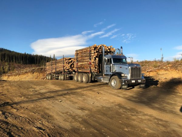 logging trailers