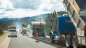 Road construction in B.C.