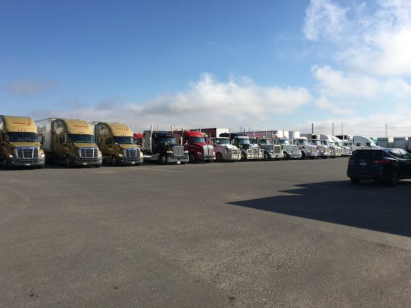 Truck Convoy for Special Olympics