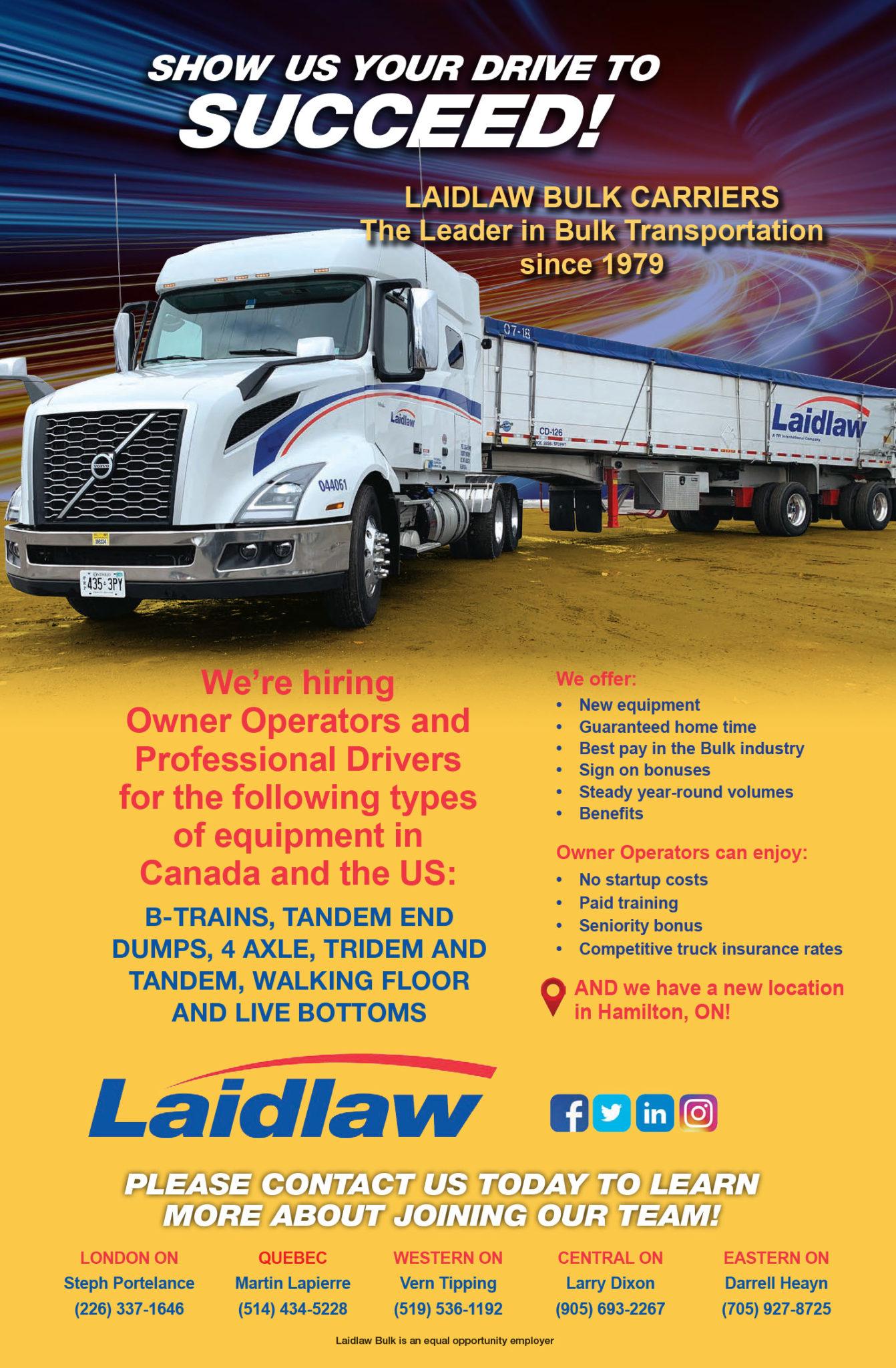 Laidlaw Carriers – (Dumps-Bulk) 2