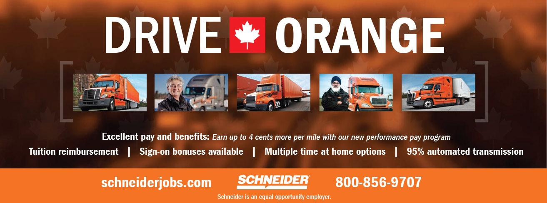Schneider – Company Drivers